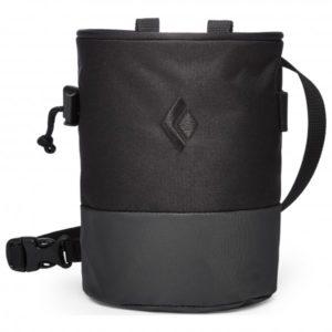 Black Diamond Mojo Zip Chalk Bag (Black) - M/L