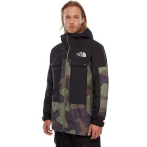 The North Face Men's Balfron Ski/Snowboard Jacket -(Camo Print/Black) - Size XL