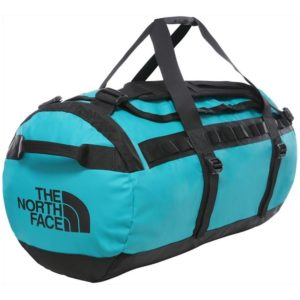 The North Face Base Camp Duffel - SMALL - Fanfare Green//TNF Black