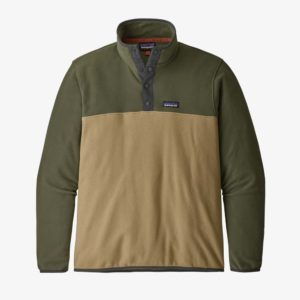 Patagonia Men's Micro D™ Snap-T® Fleece Pullover ( Classic Tan)