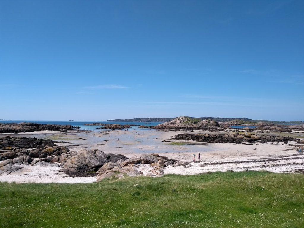 the beach at fidden