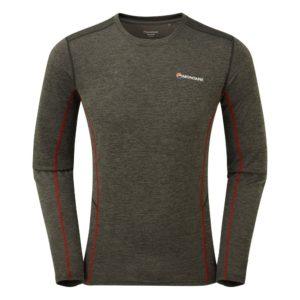 Montane Dart Long Sleeve T-Shirt - Lightweight Technical Tee (Shadow)