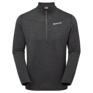 Montane Protium Fleece Pull-On - Charcoal