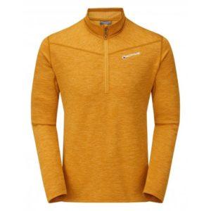 Montane Protium Fleece Pull On - Inca Gold