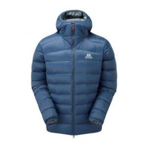 Mountain Equipment Men's 2021 Skyline Hooded Down Jacket (Denim Blue)