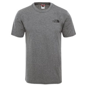 The North Face Men's Simple Dome Short Sleeve T-Shirt (TNF Medium Grey Heather)