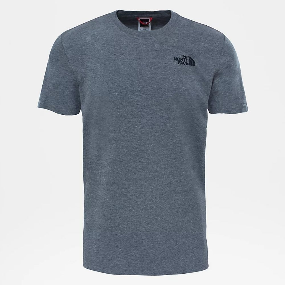 The North Face Men's Redbox T-Shirt (TNF Medium Heather Grey)