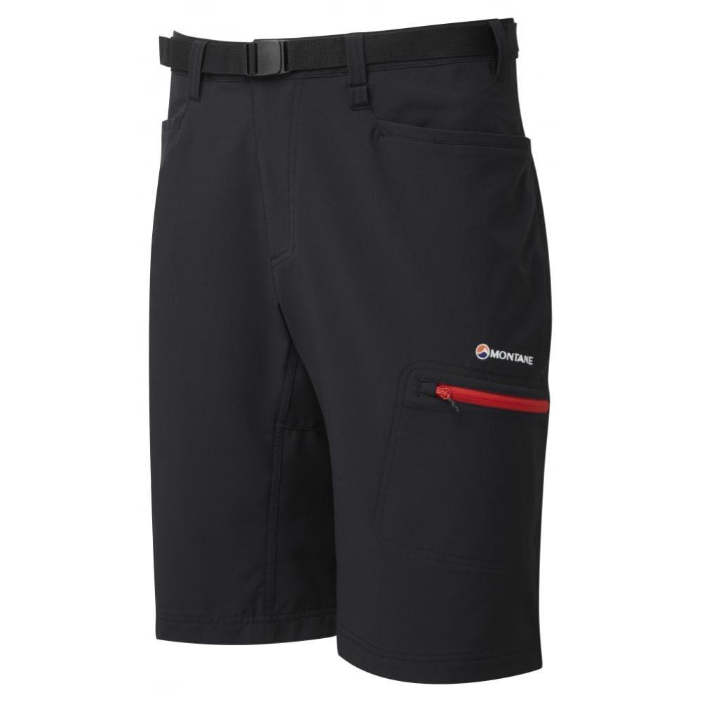 Montane Dyno Stretch Shorts - Lightweight Stretch Shorts - Black