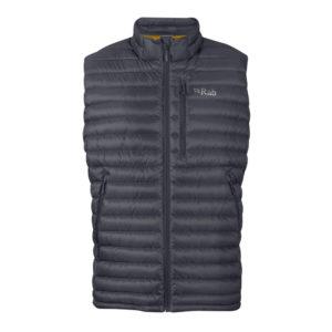 Rab Men's Microlight Down Vest (Beluga)