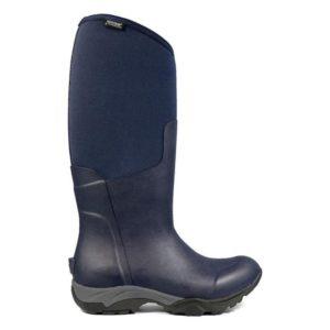 Bogs Women Essential Light Solid Wellington Boots(Navy Marine)