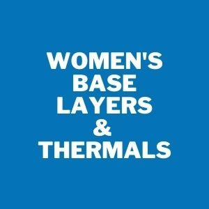 Womens base layers and thermals