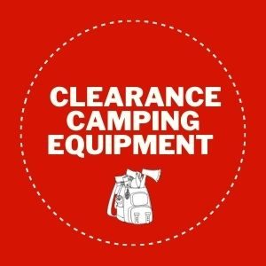 Clearance camping equipment