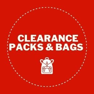 Clearance pack & bags