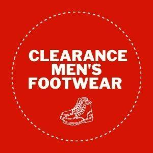 Clearance Men's Footwear