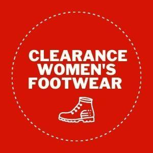 Clearance womens footwear