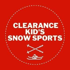 Clearance Kids snow sport